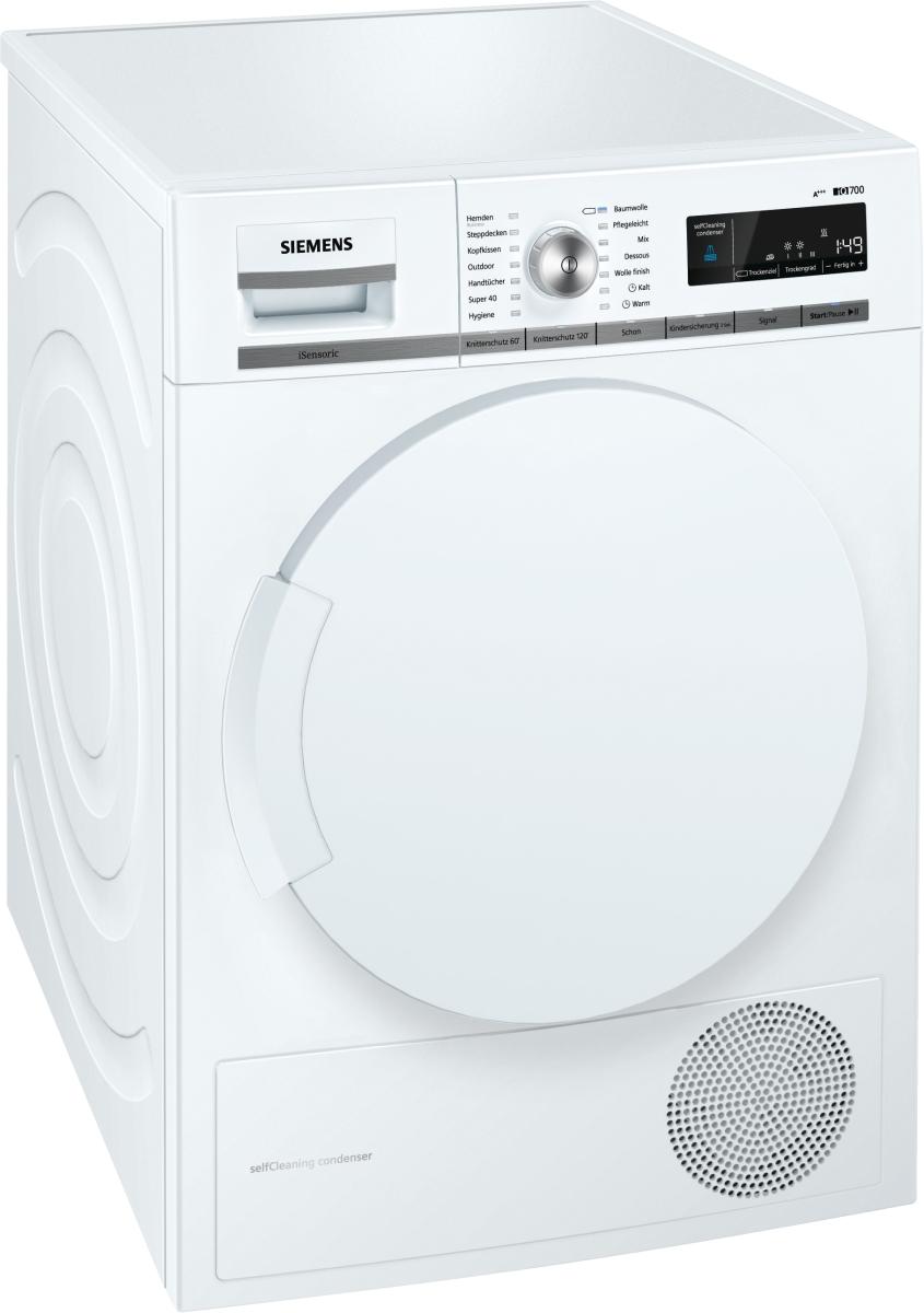 Siemens WT44W5W0Stand Wärmepumpentrockner 8kg A+++