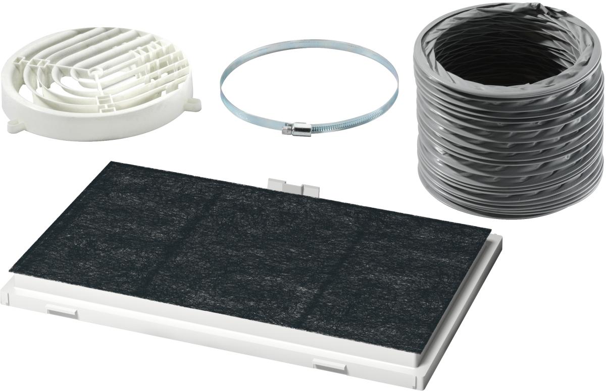 Bosch DSZ4545 Starterset für UmluftbetriebDunstabzugshauben-Zubehör