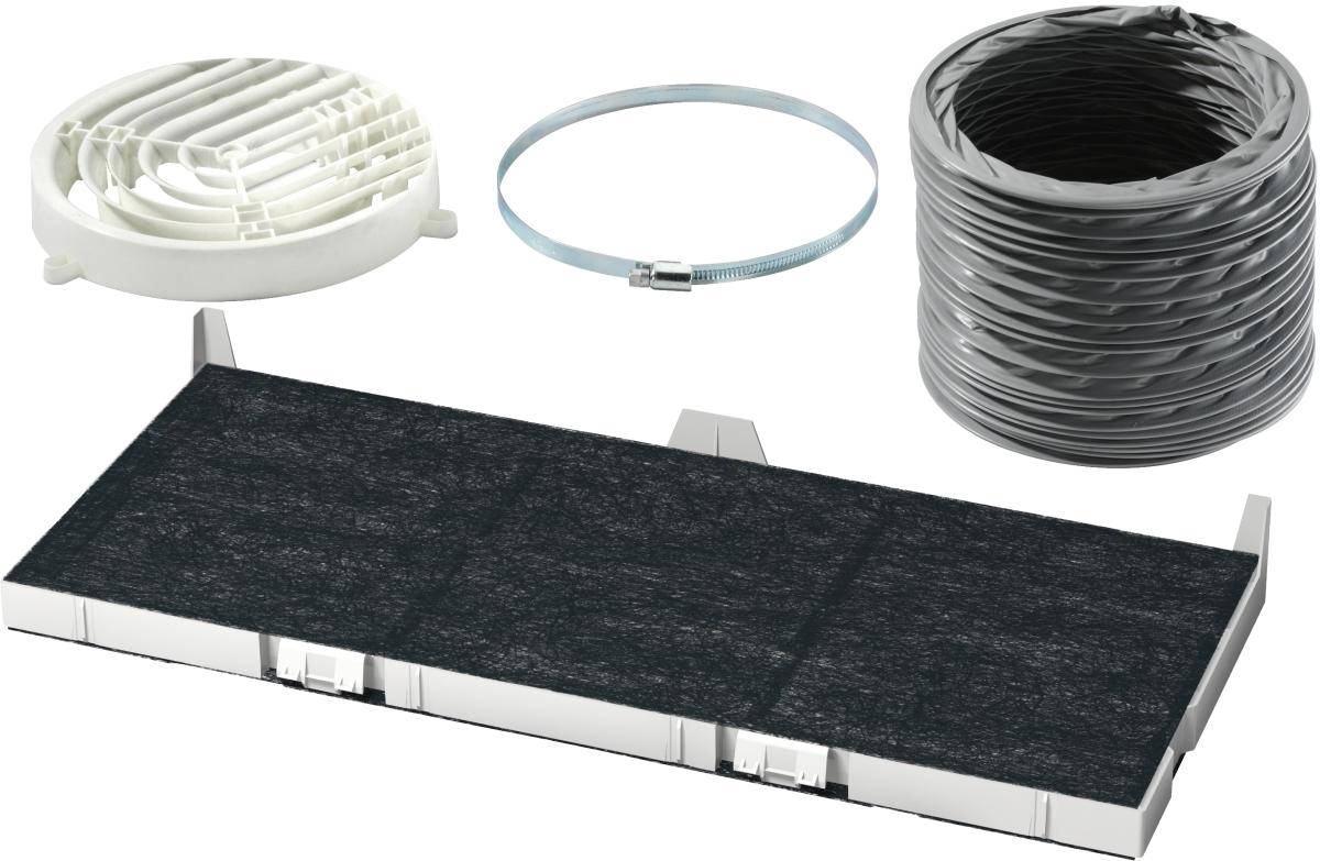 Bosch DSZ4565 Starterset für UmluftbetriebDunstabzugshauben-Zubehör