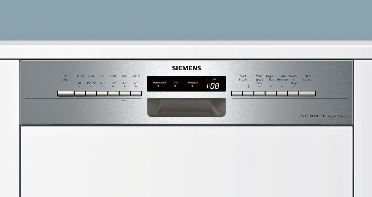 siemens sn536s00pd extraklasse made in germany integrierbar edelstahl speedmatic. Black Bedroom Furniture Sets. Home Design Ideas
