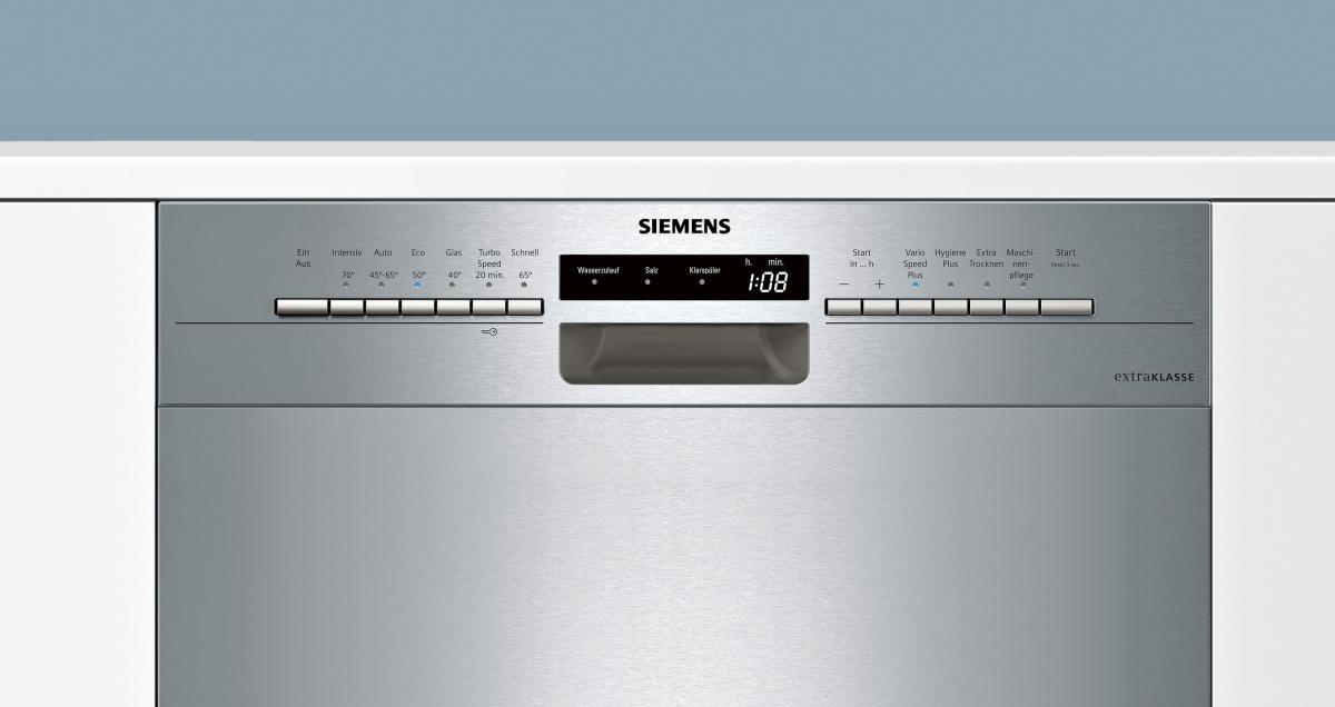 siemens sn436s00gd extraklasse unterbauger t edelstahl geschirrsp ler 60 cm inkl. Black Bedroom Furniture Sets. Home Design Ideas