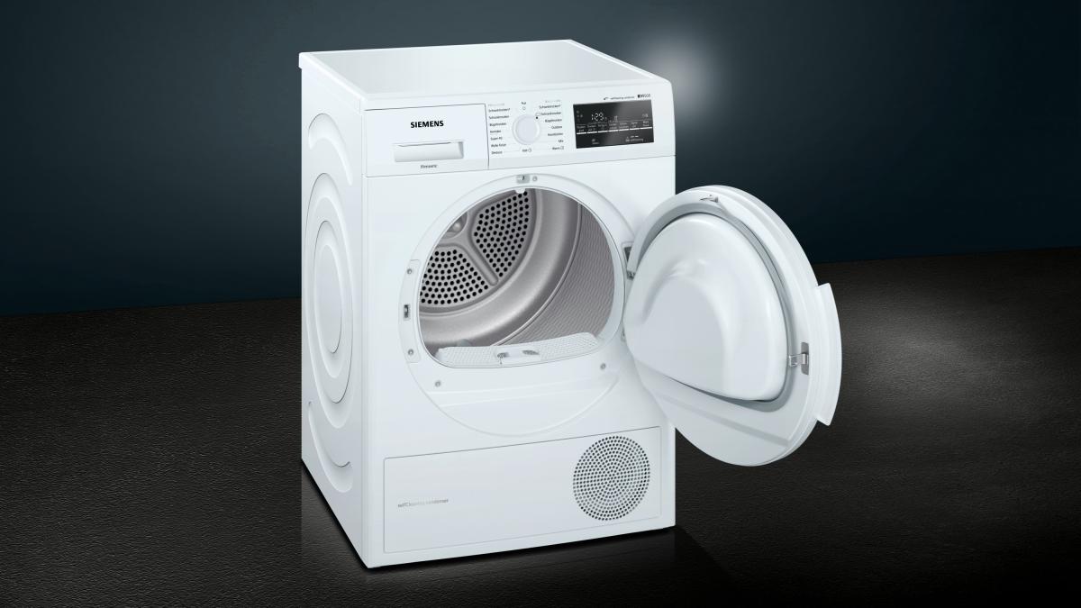 Siemens wt45w463 selfcleaning condenser wärmepumpentrockner 7kg a