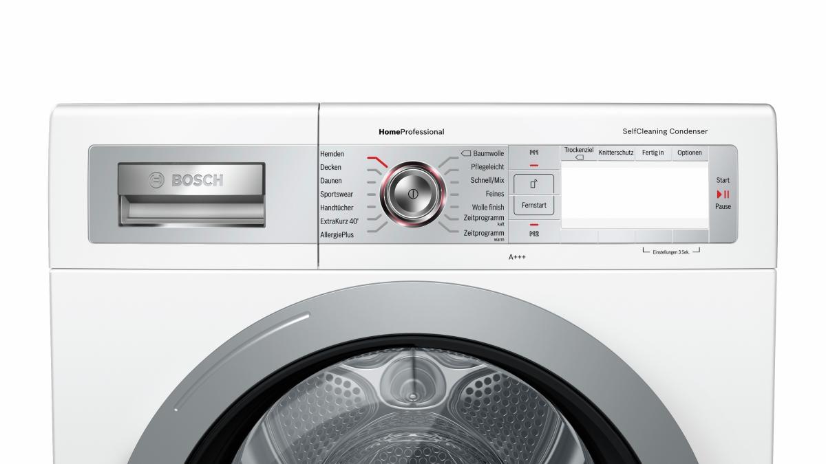 Bosch wtyh selfcleaning condenser wärmepumpentrockner kg a