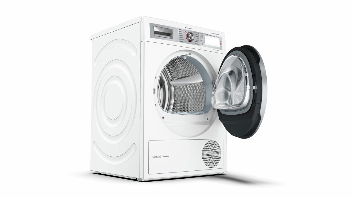 Bosch wtyh7701 selfcleaning condenser wärmepumpentrockner 8kg a