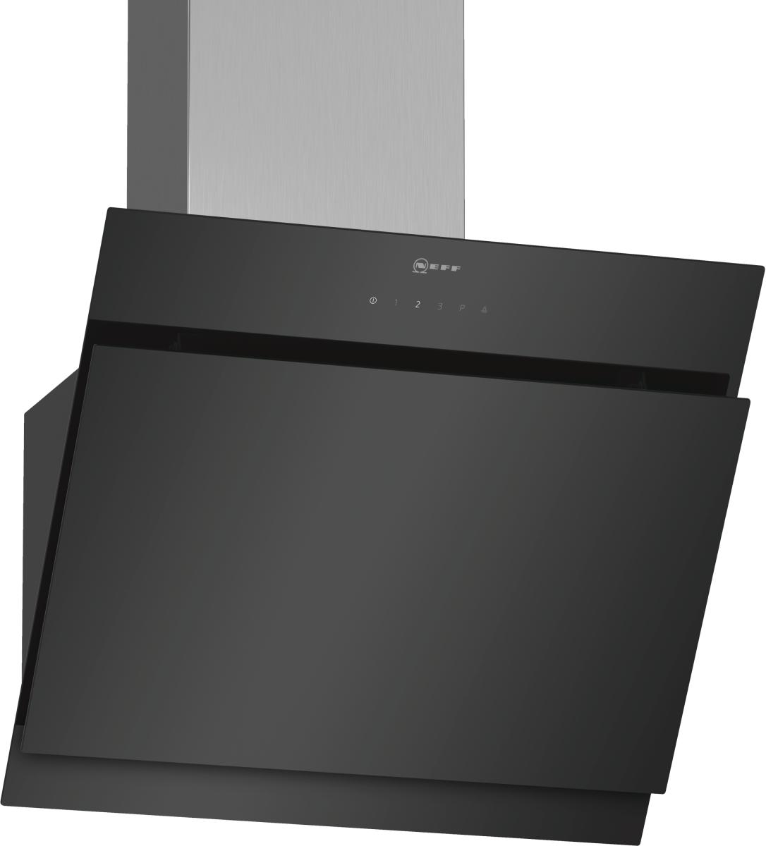 Neff DIHM651S( D65IHM1S0 )Schrägesse 60cm 660m³/h Intensivstufe Randabsaugung EEK:A
