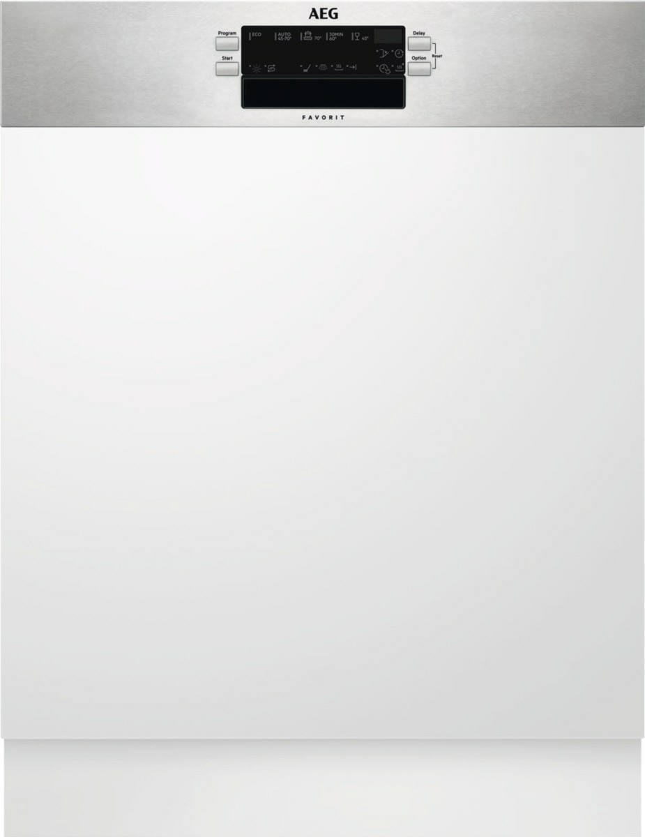 AEG FEB52600ZM Geschirrspüler 60cm integrierbar edelstahl 47dBab 7 L