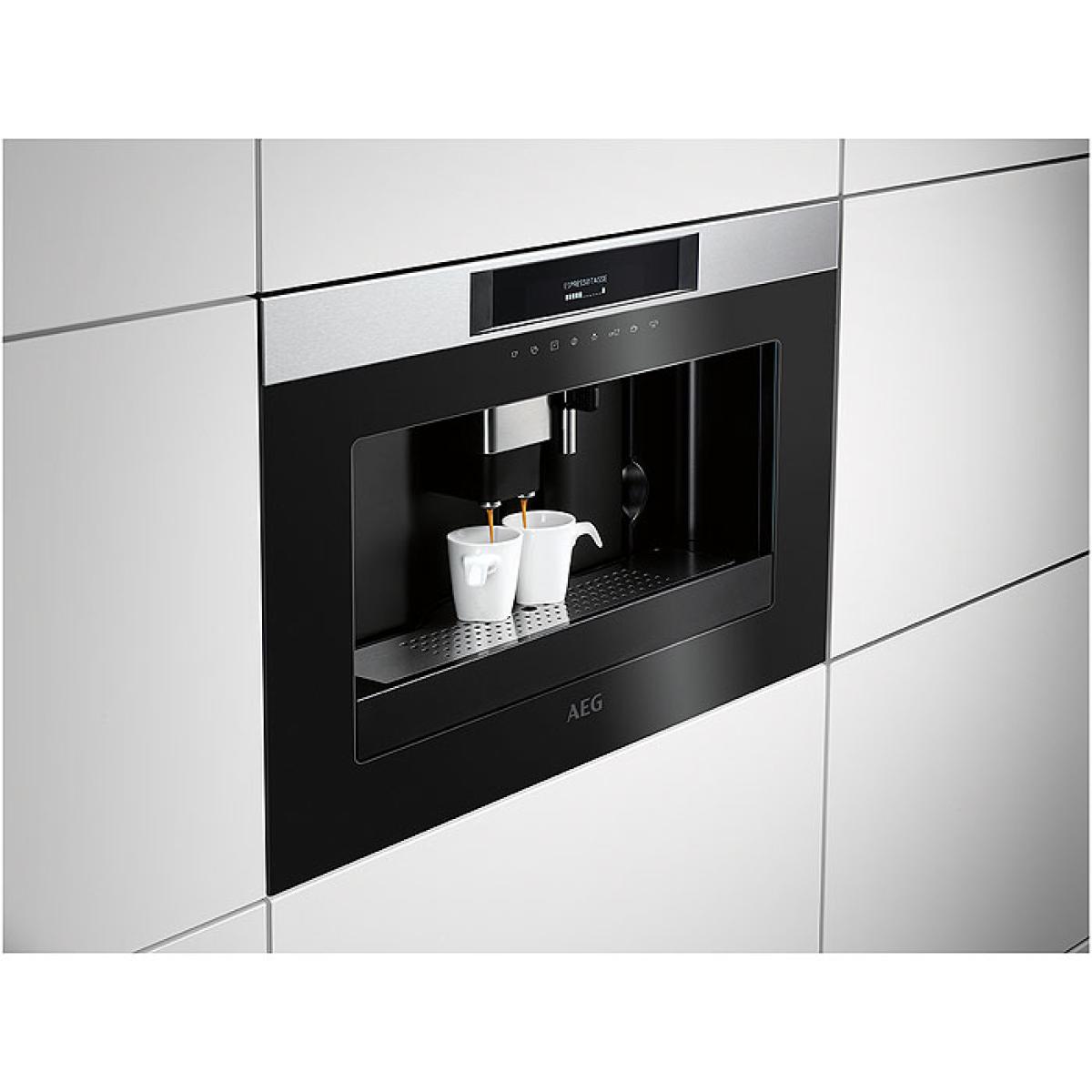 aeg kkk884500m einbau kaffeevollautomat 45cm hoch antifinger edelstahl beschichtung g nstig. Black Bedroom Furniture Sets. Home Design Ideas