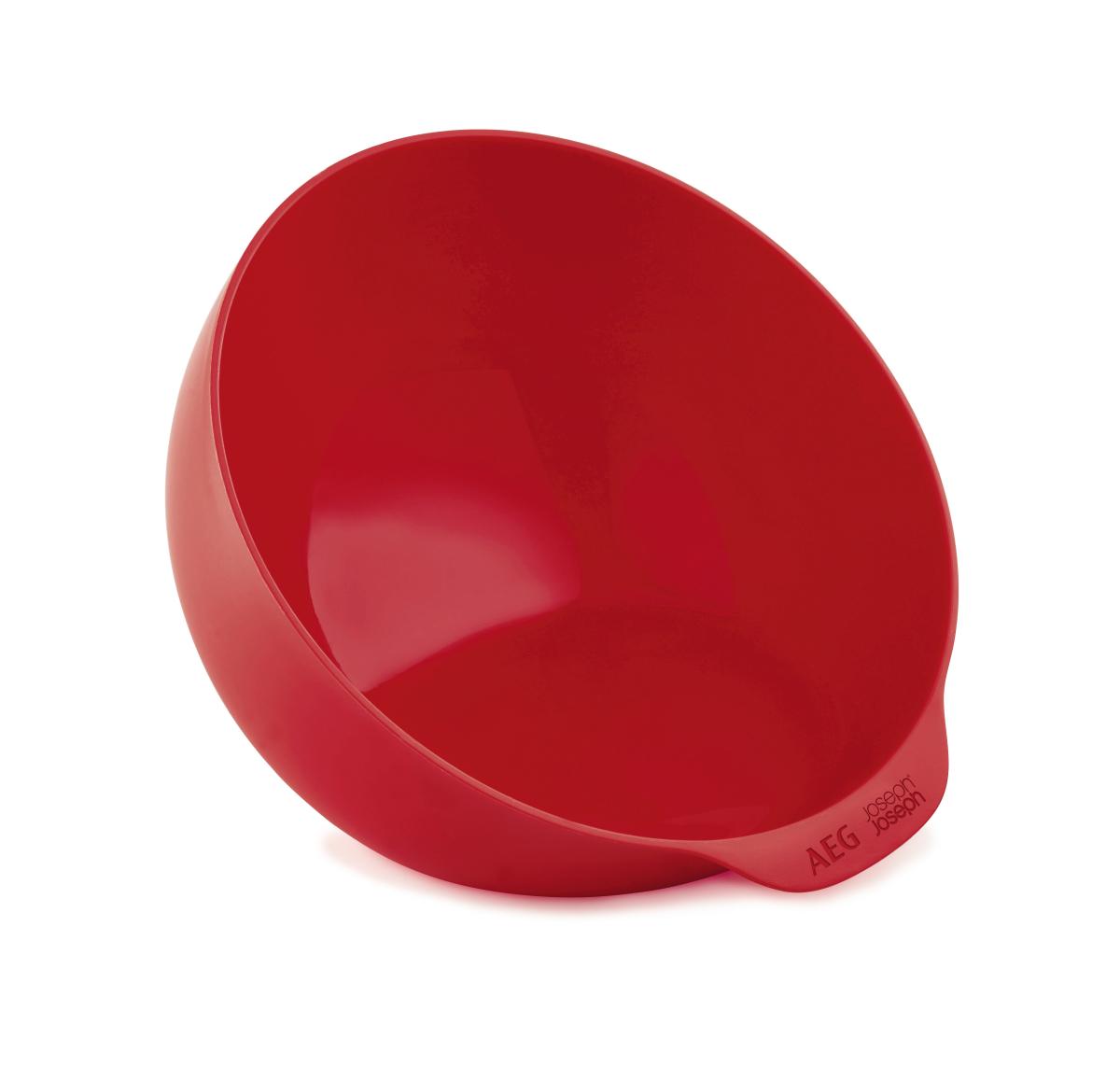 AEG A9MBOML Mikrowelle Omelett Schüssel, rot