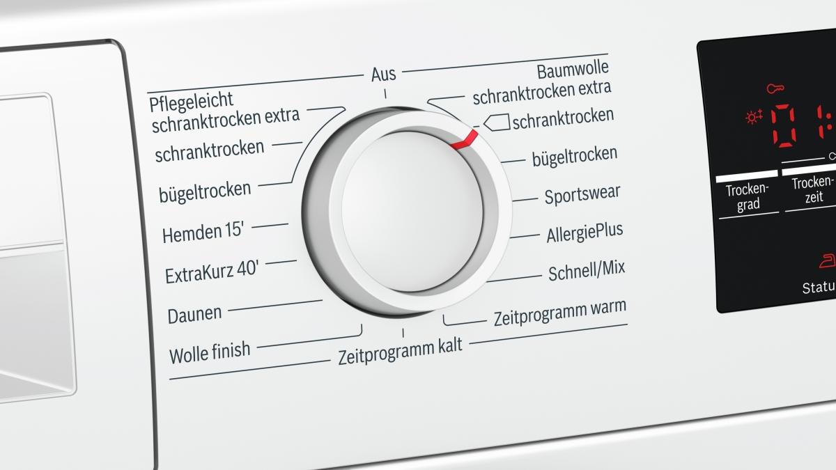 Bosch wtg luftkondensations wäschetrockner günstig kaufen