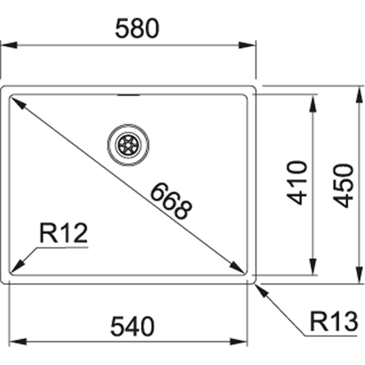 franke box bxx 210 54 druckknopfventil g nstig kaufen. Black Bedroom Furniture Sets. Home Design Ideas
