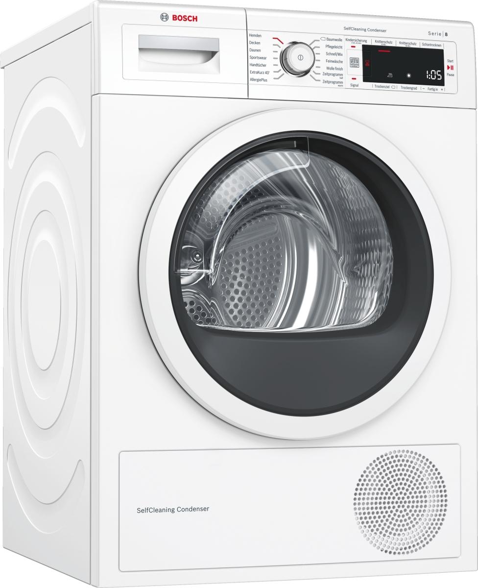 Bosch WTW87541 Wärmepumpentrockner 9 kgEEK: A++