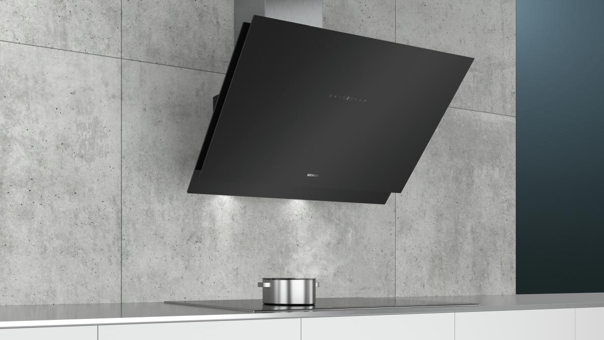 Siemens lc98kmr60 wand esse 90 cm schwarz mit glasschirm günstig
