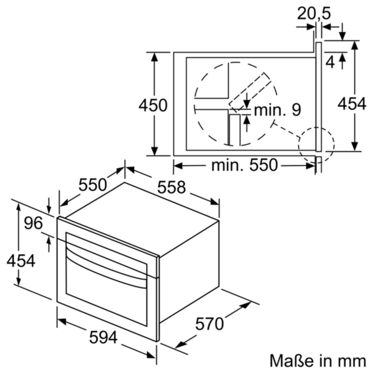 neff cmb1683 c1cmg83n0 backofen mit mikrowelle. Black Bedroom Furniture Sets. Home Design Ideas