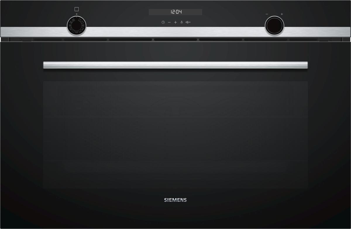 Siemens VB578D0S0Einbau-Backofen-Elektro 90 cm breit varioClip-Ausszug activeClean A+