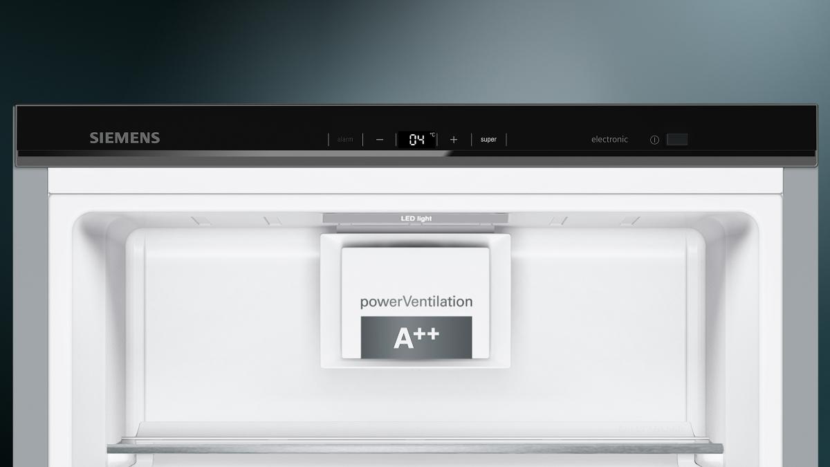 Kühlschrank Alarm Offene Tür : Siemens ks vax p kühlschrank türen black inox antifingerprint eek