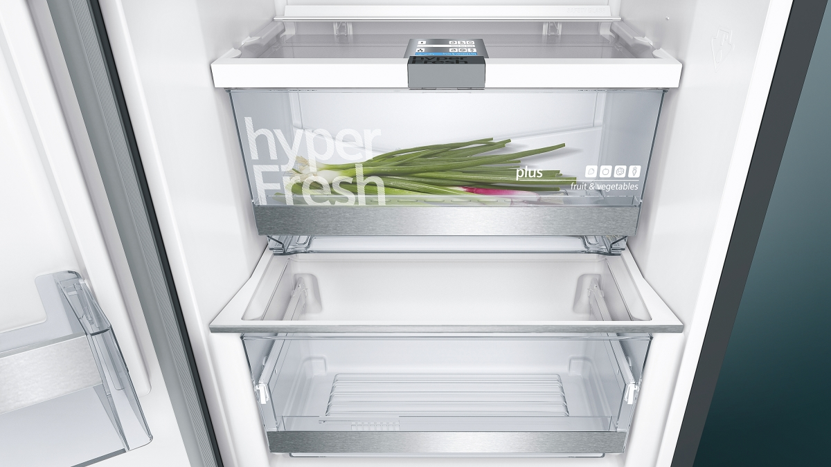 Siemens Kühlschrank Integrierbar : Siemens ks36vax3p kühlschrank türen black inox antifingerprint eek