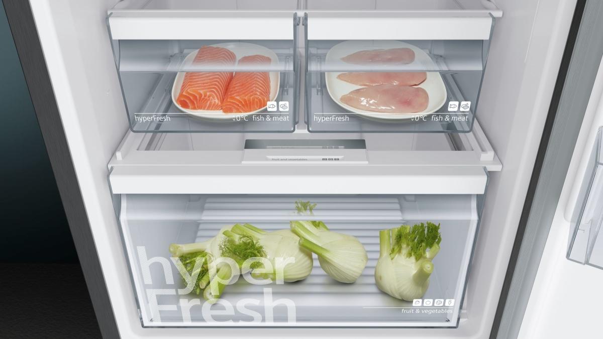 Siemens Kühlschrank Unterdruck : Siemens kg36nxx4a kühl gefrier kombi türen black inox