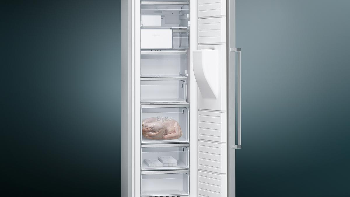 Siemens Kühlschrank Abtauen : Siemens gs dbi v gefrierschrank nofrost eisspender edelstahl