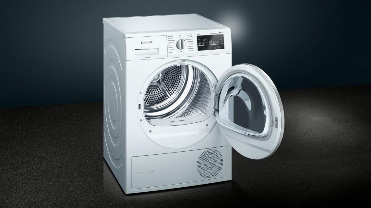 Siemens wt45w492 extraklasse mk wärmepumpentrockner 8 kg eek: a
