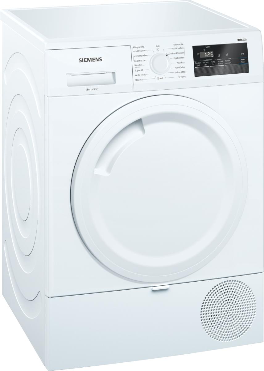Siemens WT43RV00 Wärmepumpentrockner7 kgEEK: A++