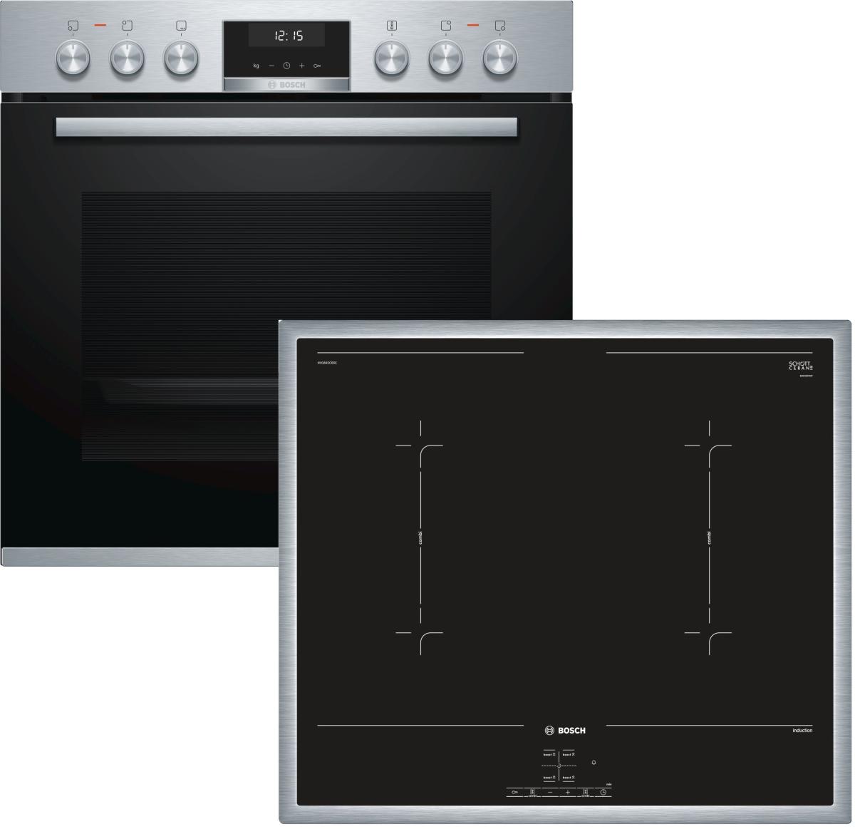 Bosch HND617LS60 ( HEA5174S1 + NVQ645CB5E )
