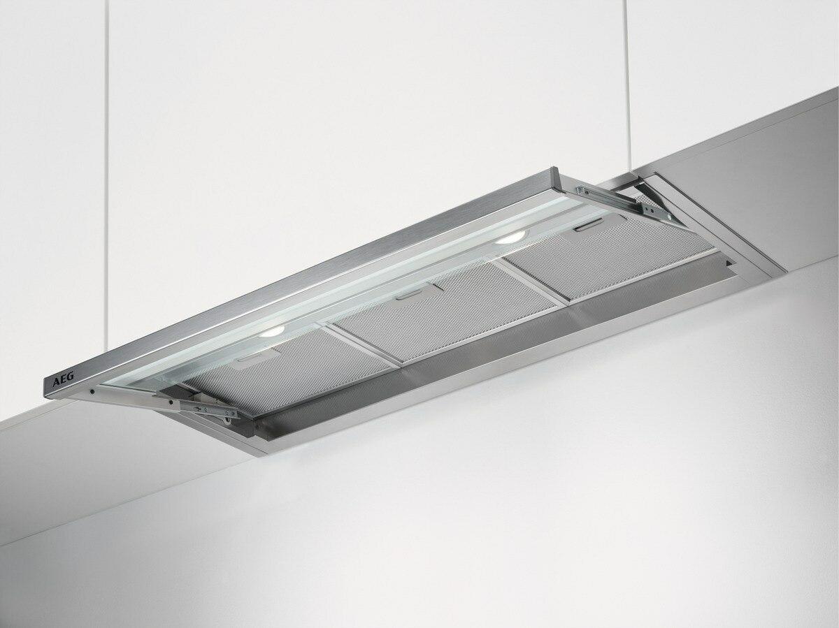 AEG DPE4941M Flachschirmhaube 90 cmLED-Beleuchtung