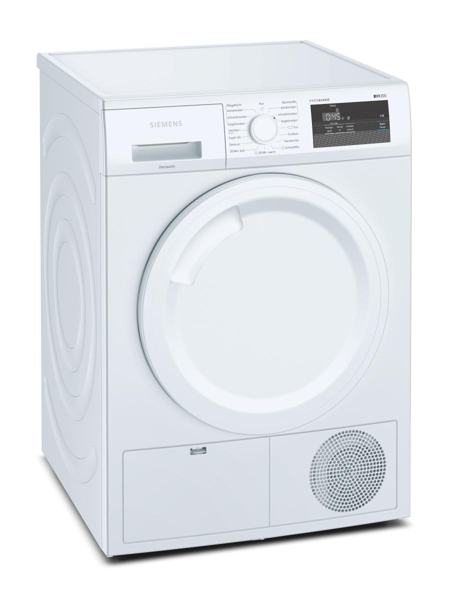 Siemens WT43H082 extraKLASSE (MK) Wärmepumpentrockner 7 kgLED-DisplaysoftDry-TrommelEEK: A+