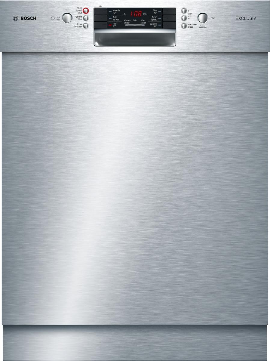 Bosch SMU46HS00D EXCLUSIV (MK) Unterbau Geschirrspüler EdelstahlLED-Display SilencePlus ab 5 l