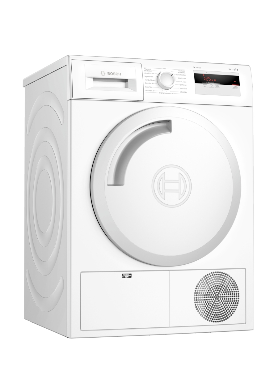 Bosch WTH83082 EXCLUSIV (MK) Wärmepumpentrockner 7 kgLED-DisplaytouchControlAutoDryEEK: A+