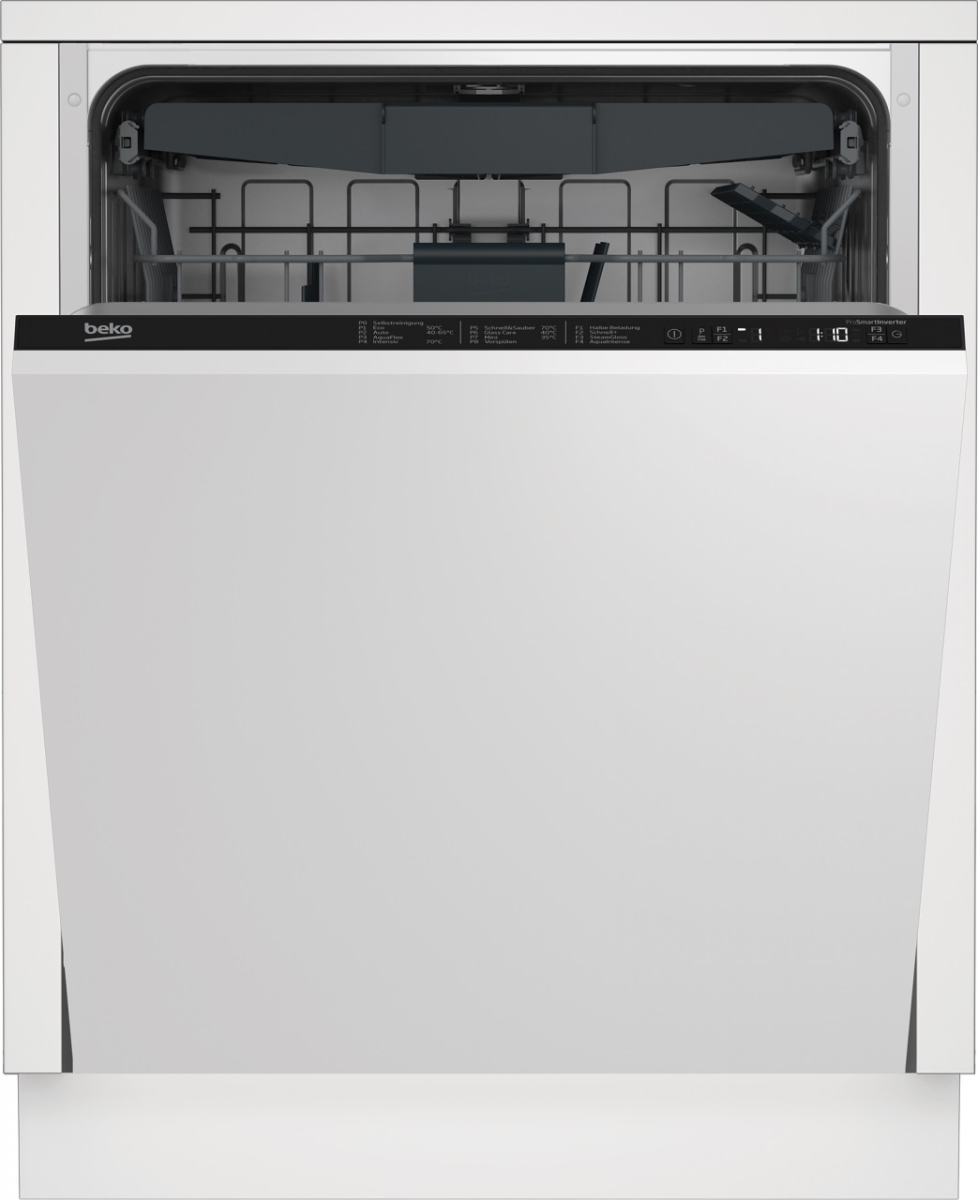 Beko DIN28431 Geschirrspüler vollintegrierb. LC-Display42dB10Jahre Motorgarantie Besteckschublade EEK:D