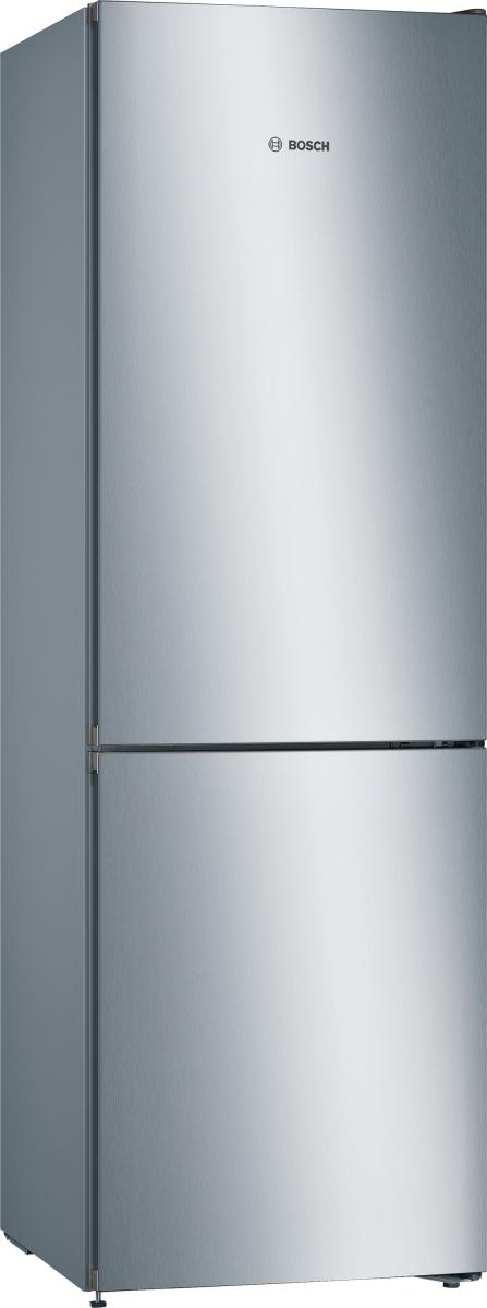 Bosch KGN36VLDD Stand Kühl-Gefrier-Kombination 186 x 60 cm, Edelstahl-Optik NoFrost + VitaFresh