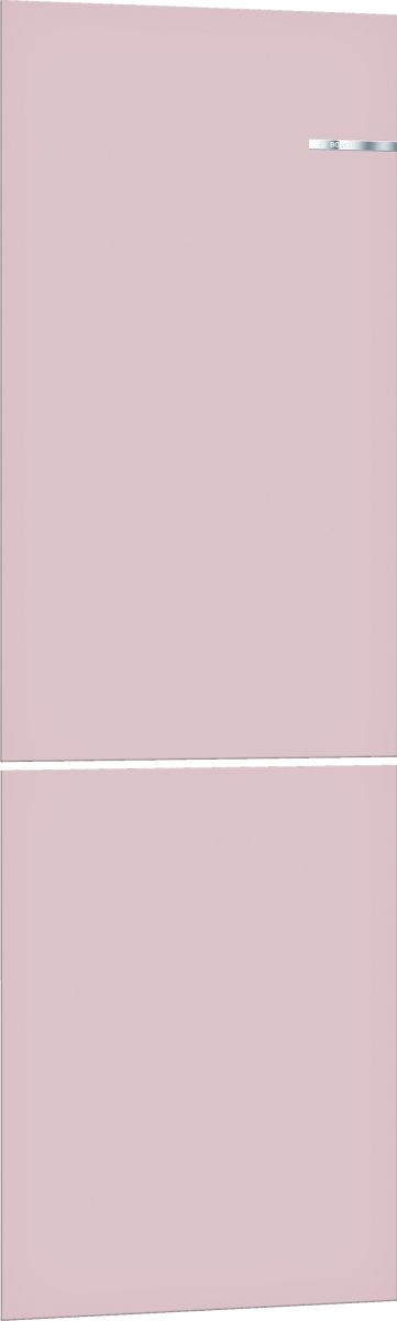 Bosch KSZ2BVP00 Pastellrosè -ZUBEHÖR- Austauschbare Farbfront für Vario Style Kühl-Gefrier-Kombination