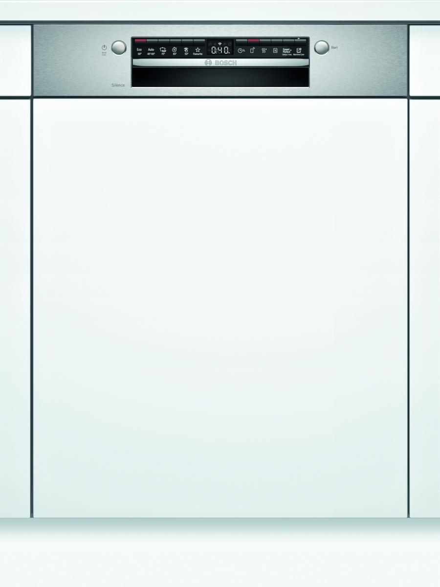 Bosch SMI4HVS31E Geschirrspüler integrierbar 60 cm Edelstahl 46/44dB VarioschubladeHomeConnect EEK:E