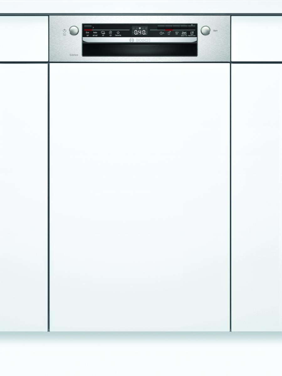 Bosch SPI2IKS10E Geschirrspüler integrierbar 45 cmEdelstahlHomeConnect48dB