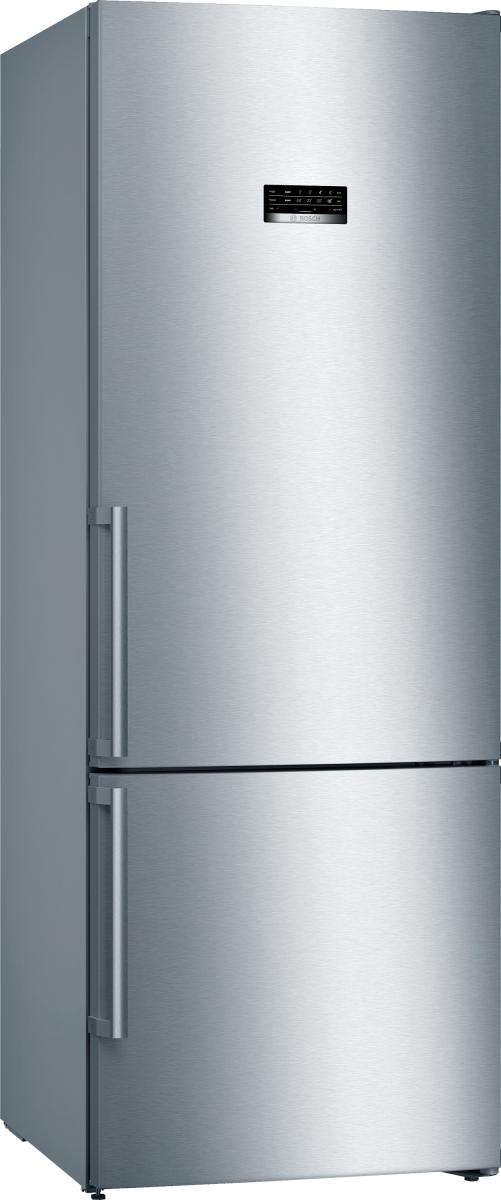 Bosch KGN56XIDP Stand Kühl-Gefrier-Kombi Edelstahl 70cm mit Anti-FingerprintNoFrostLED EEK:D
