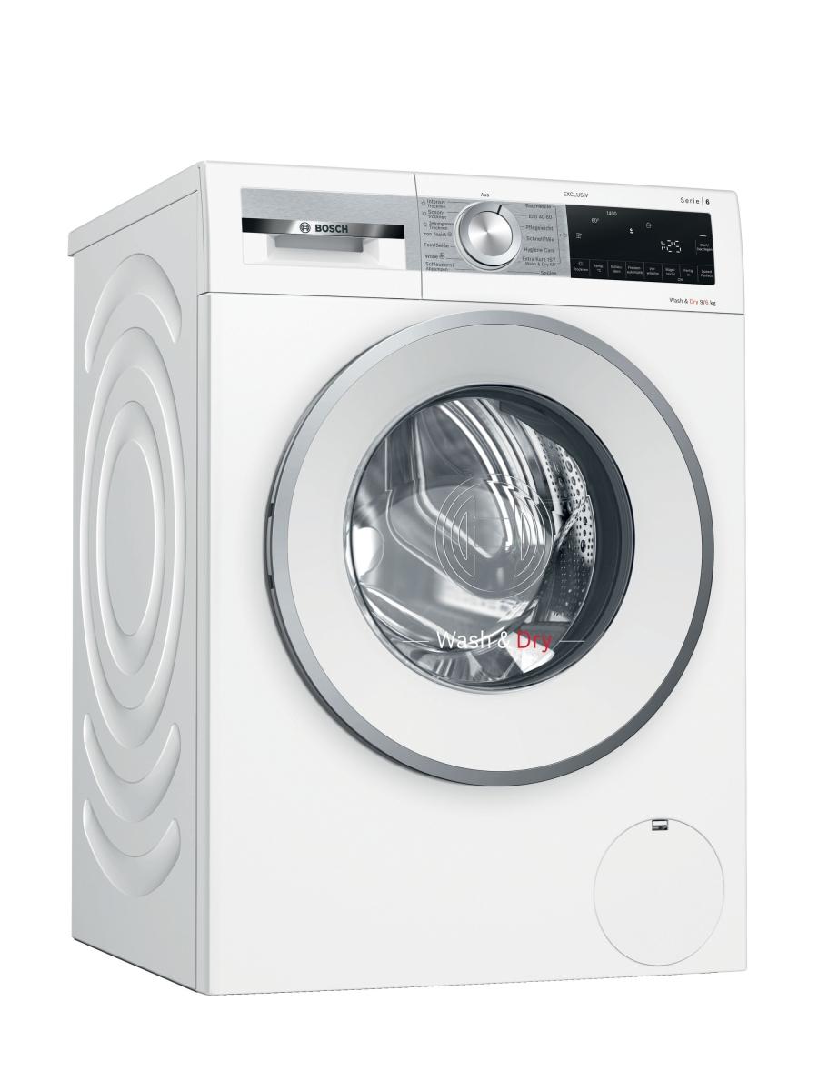 Bosch WNG24490 EXCLUSIV (MK) Waschtrockner9 kg Waschen - 6 kg Trocknen