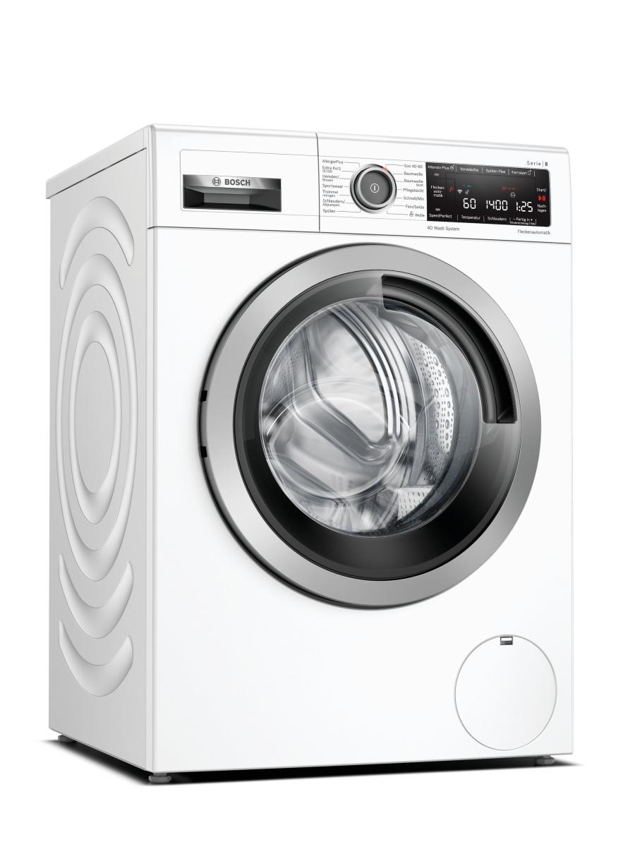 Bosch WAX28M42 Waschmaschine 9 kg4D-WashSystemHomeConnect LED1400 U/min