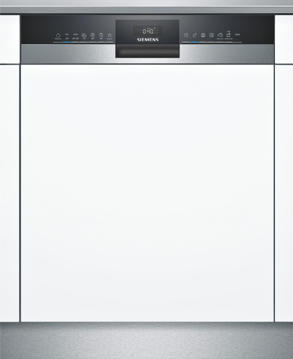 Siemens SN53HS60AE Geschirrspüler ingerierbar 60 cm Edelstahl HomeConnect Startzeitvorwahl 44dB
