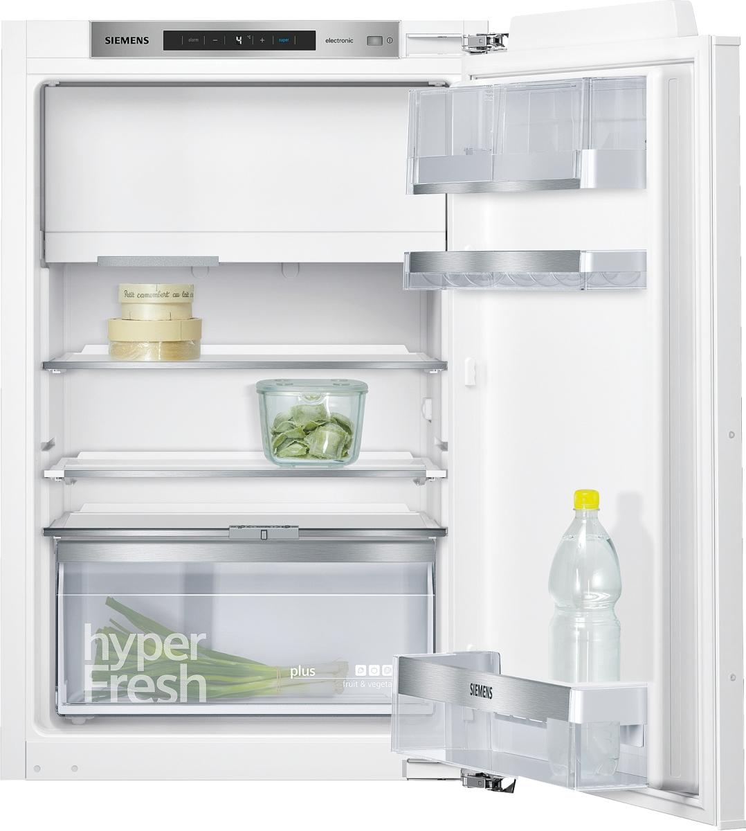 Siemens KI22LADD0 Einbau Kühlschrank mit Gefrierfach 88 cm Nische Flachscharnier hyperFreshPlus