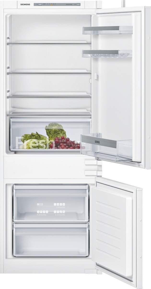 Siemens KI67VVSF0 Einbau Kühl-Gefrier-Kombi 145 cm Nische Schlepptür LowFrostLED FreshSense