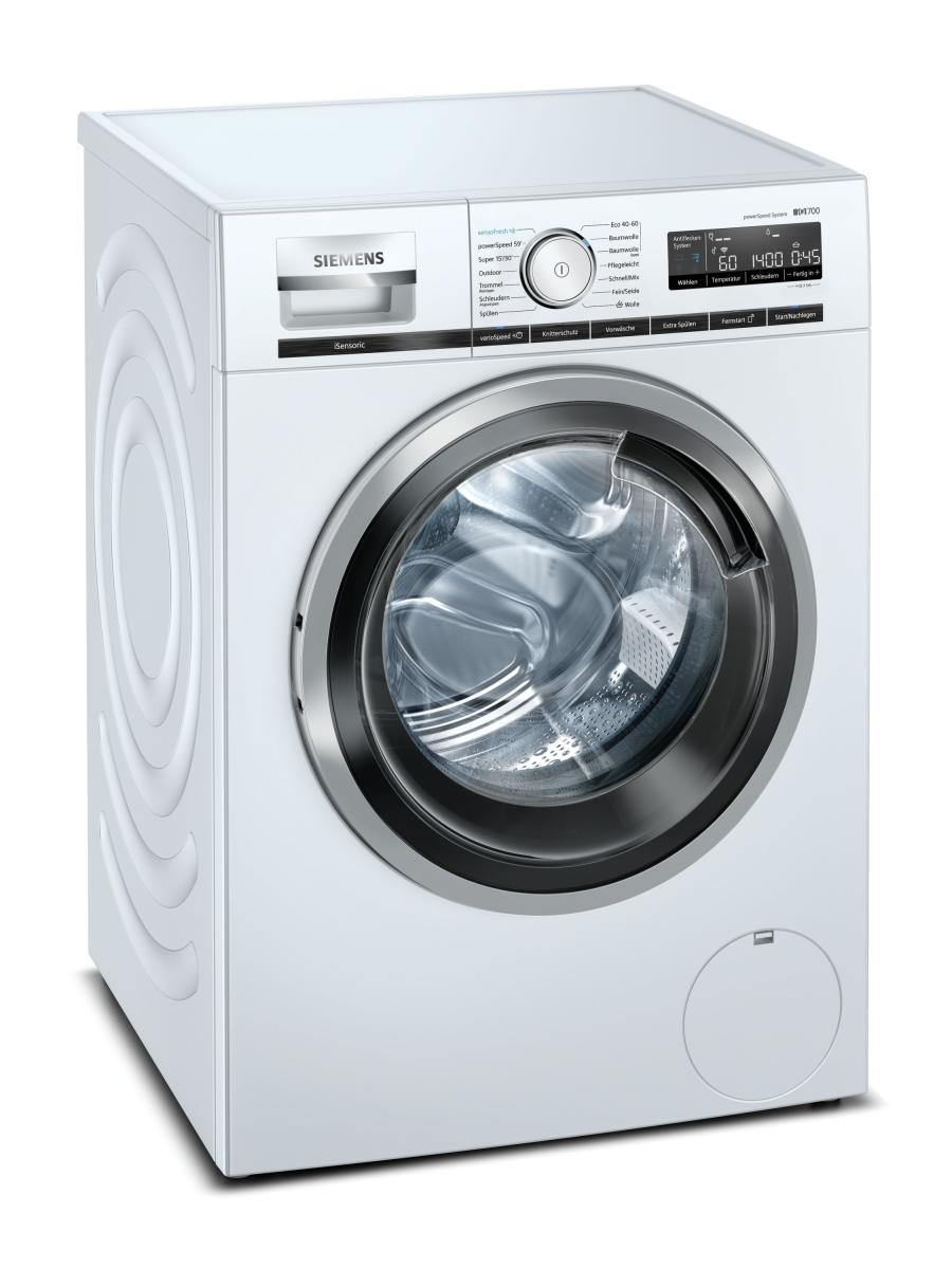 Siemens WM14VL41 Waschmaschine 9 kg HomeConnectLED-DisplaysensoFresh 1400 U/min