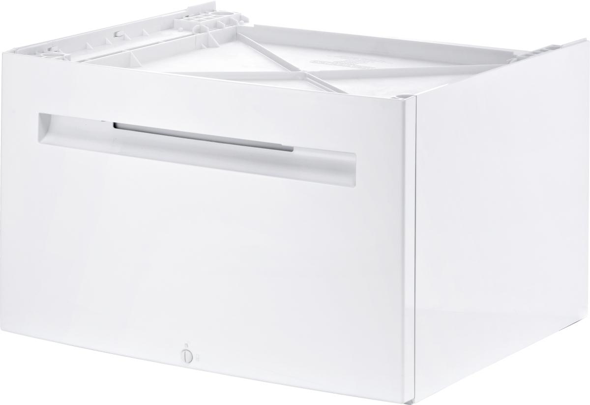 Bosch WMZPW20W Universalpodest mit Aufbewahrungsschublade für Waschmaschinen