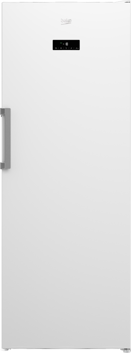 Beko RFNE448E45W Standgefrierschrank 70cm breit Nutzinhlt 404Ltr, NoFrost