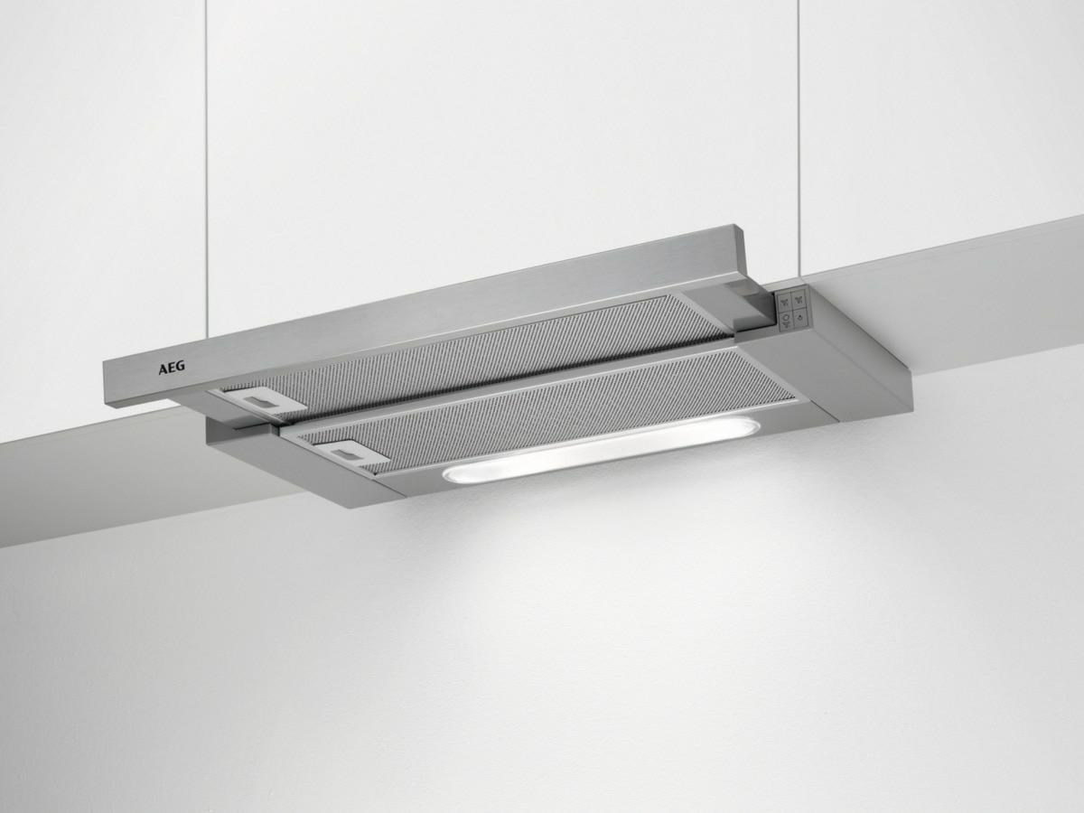 AEG DPB3632M Flachschirmhaube 60 cm LED-Beleuchtung