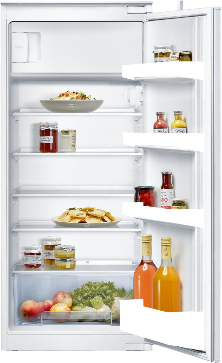 Neff K1554XSF0 Einbau Kühlschrank mit Gefrierfach 123 cm NischeFreshSafeLED