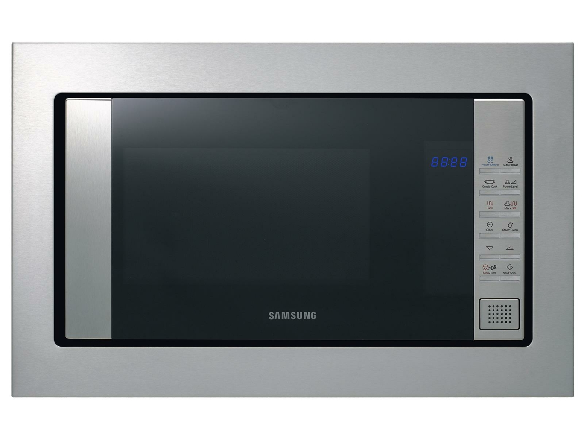 Samsung FG87SUST/EG Einbau-Mikrowelle mit GrillCrustyPlateDampfreinigung