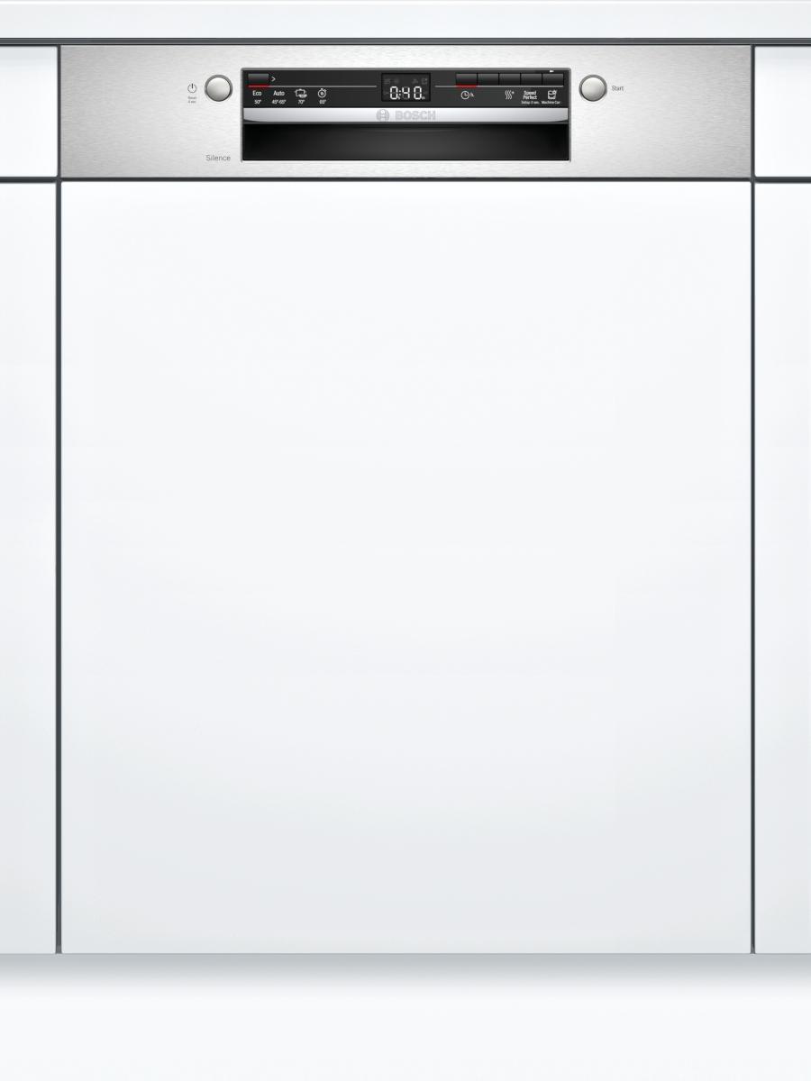 Bosch SGI2ITS33E Geschirrspüler integrierbar 60cm EdelstahlDosierAssistent 48dB 5 Spülprogramme EEK:E